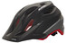 Alpina Carapax Jr. Flash Helm black-red-darksilver